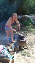 Die Outdoor-Hausfrau